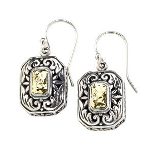 Rectangular Dangle Earrings