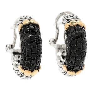 Black Spinel Earrings